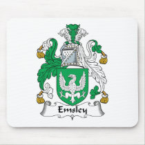 Emsley Family Crest Mousepad