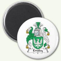 Emsley Family Crest Magnet