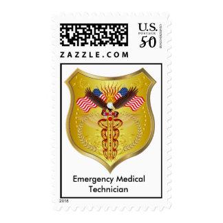 EMT-1-V-1, Emergency Medical, Technician Postage