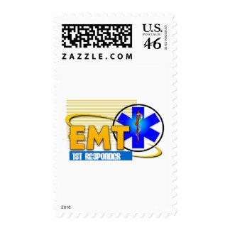 EMT 1ST RESPONDER EMERGENCY MEDICAL TECHNICIAN STAMPS