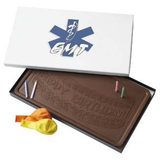 EMT Active 2 Pound Milk Chocolate Bar Box