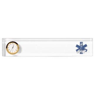EMT Active Desk Nameplate
