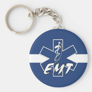 EMT Active Duty Keychain