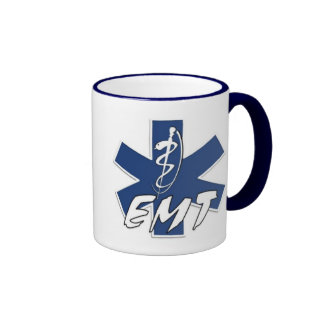 EMT Active Duty Ringer Coffee Mug