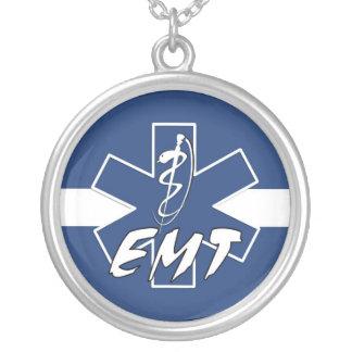 EMT Active Round Pendant Necklace