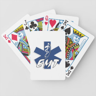 EMT Active Star of Life Bicycle Playing Cards
