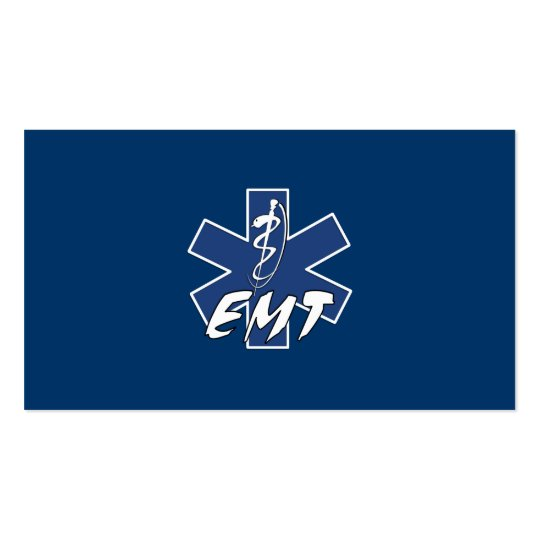 EMT Active Star of Life Business Card