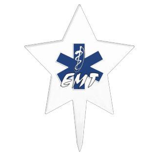 EMT Active Star Of Life Cake Topper
