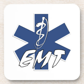 EMT Active Star of Life Coaster