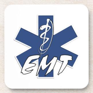 EMT Active Star of Life Beverage Coasters