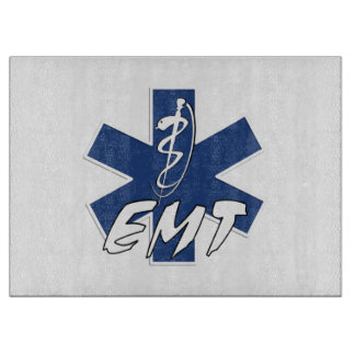 EMT Active Star of Life Cutting Board