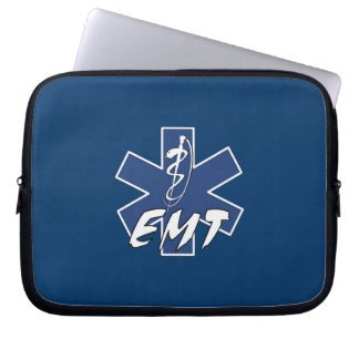 EMT Active Star of Life Laptop Computer Sleeve
