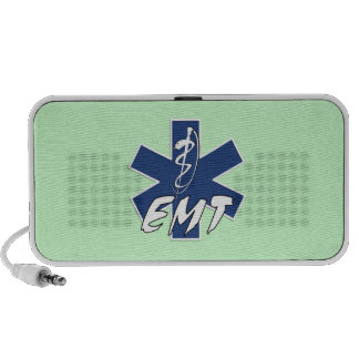 EMT Active Star of Life Mp3 Speakers