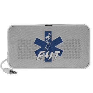 EMT Active Star of Life Notebook Speakers