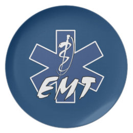 EMT Active Star of Life Plate