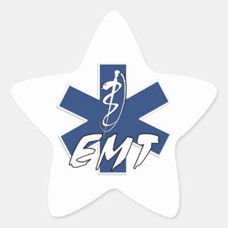 EMT Active Star of Life Star Sticker