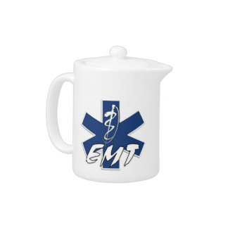EMT Active Star of Life Teapot