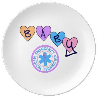 EMT Baby Porcelain Plate