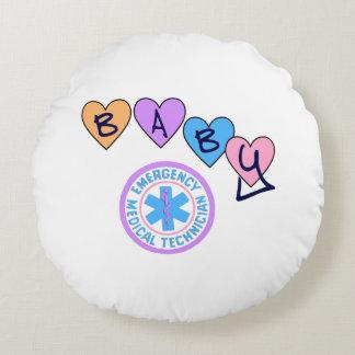 EMT Baby Round Pillow