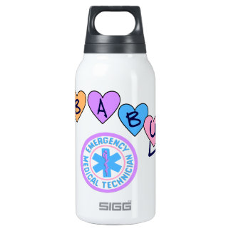 EMT Baby Star Of Life Insulated Water Bottle