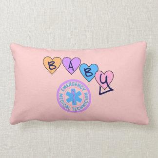 EMT Baby Star Of Life Lumbar Pillow