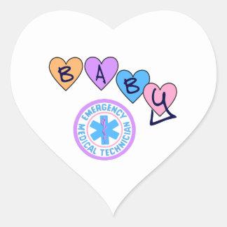 EMT Baby Star of Life Sticker