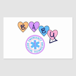 EMT Baby Star of Life Stickers