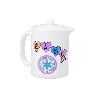 EMT Baby Star Of Life Teapot