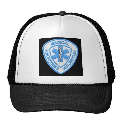 EMT BADGE TRUCKER HAT