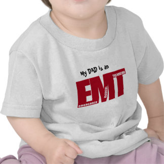 EMT BIG RED - EMERGENCY MEDICAL TECHNICIAN SHIRT