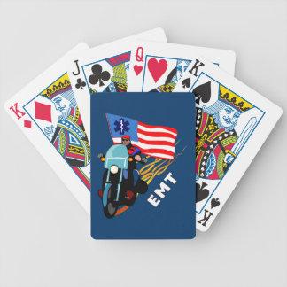 EMT Biker Bicycle Card Deck