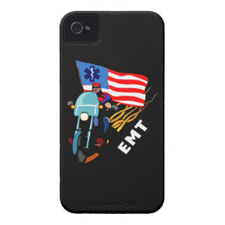 EMT Biker iPhone 4 Case-Mate Case