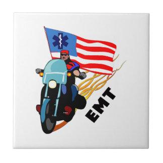 EMT Biker Ceramic Tile