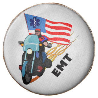 EMT Biker Chocolate Covered Oreo