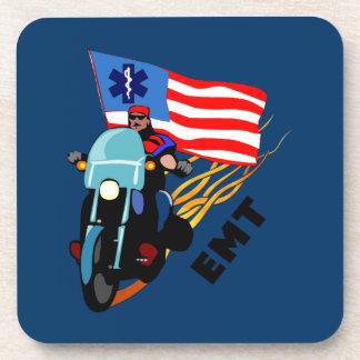 EMT Biker Drink Coaster