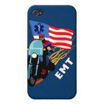 EMT Biker iPhone 4/4S Cover