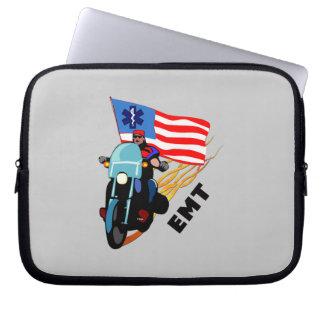 EMT Biker Laptop Computer Sleeves