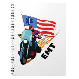 EMT Biker Notebooks