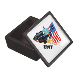 EMT Biker Premium Keepsake Box