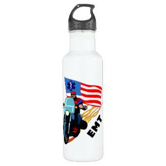 EMT Biker Stainless Steel Water Bottle