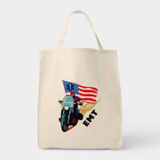 EMT Biker Tote Bag