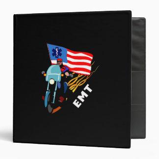EMT Biker Vinyl Binder