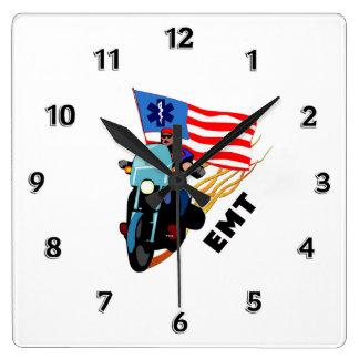 EMT Biker Wall Clock