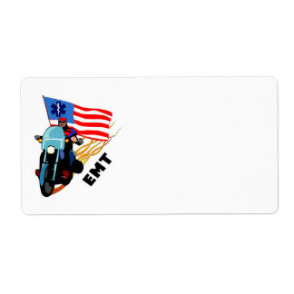 EMT Bikers Personalized Shipping Label