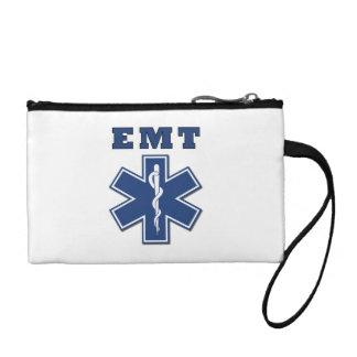 EMT Blue Star Of Life Coin Wallet