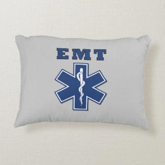EMT Blue Star of Life Decorative Pillow