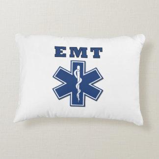 EMT Blue Star of Life Accent Pillow