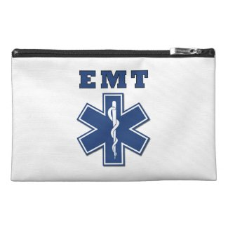 EMT Blue Star Of Life Travel Accessory Bags