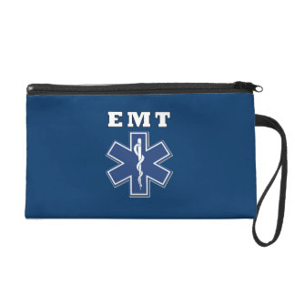 EMT Blue Star Of Life Wristlet