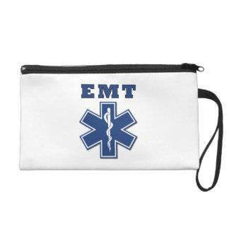 EMT Blue Star Of Life Wristlet Purse